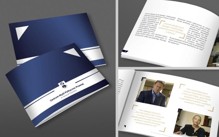 MVIZUAL agencja reklamowa olsztyn katalogi publikacje projekt publikacji centrum myśli