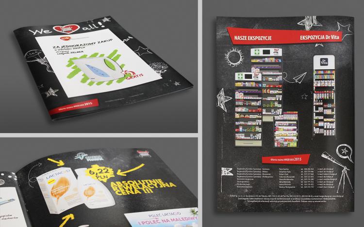 MVIZUAL agencja reklamowa olsztyn projekt gazetki reklamowej kargo 092015
