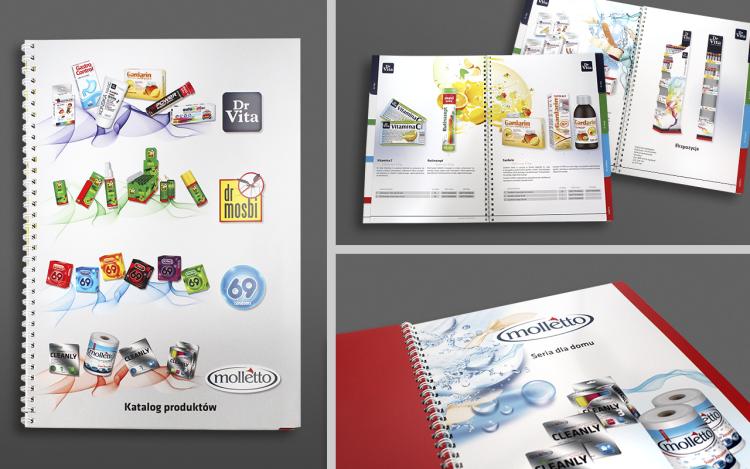 MVIZUAL agencja reklamowa olsztyn katalogi publikacje projekt katalogu z produktami dr vita 2015