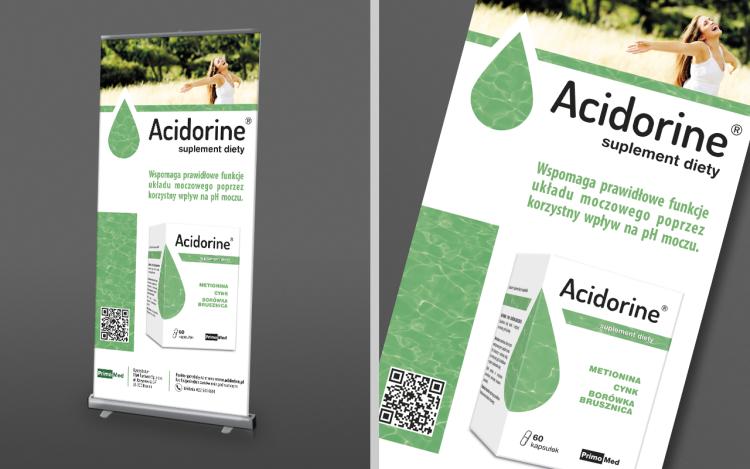 agencja reklamowa olsztyn MVIZUAL reklama systemy wystawiennicze projekt rollup acidorine 100x200