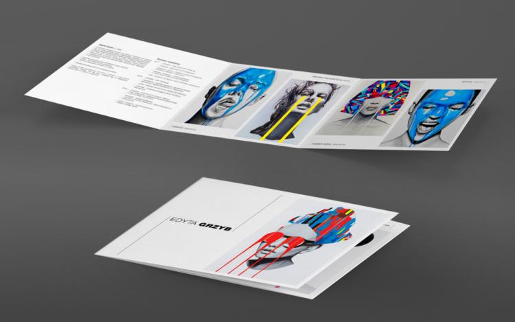 agencja reklamowa olsztyn MVIZUAL reklama projekt ulotki broszury A5 C portfolio edyta grzyb 2017
