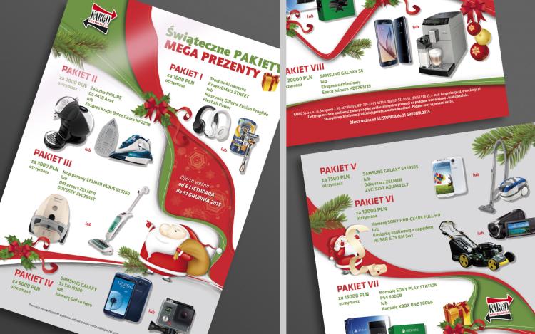 MVIZUAL agencja reklamowa olsztyn ulotki foldery projekt kargo A4 2015