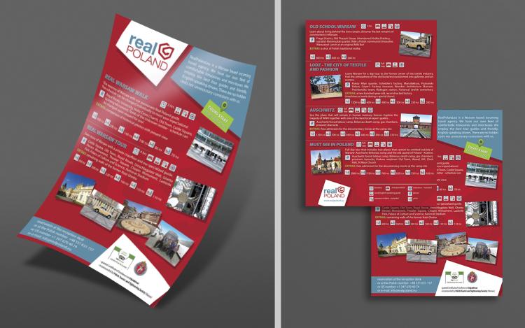 agencja reklamowa olsztyn MVIZUAL reklama ulotki foldery projekt real poland A4 2015
