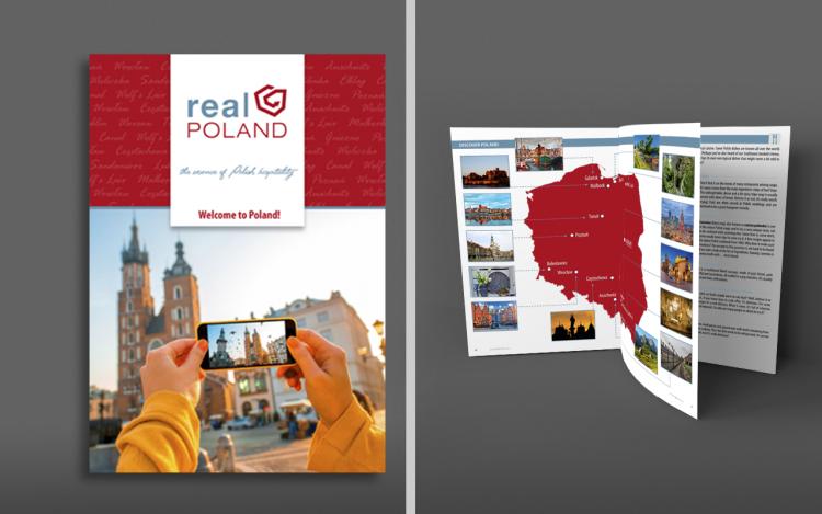 agencja reklamowa olsztyn projekt graficzny katalogu turystycznego
