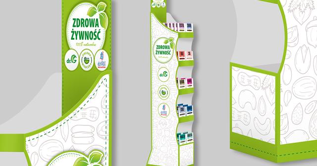 agencja reklamowa olsztyn MVIZUAL reklama aktualności display zdrowa żywność 1go1