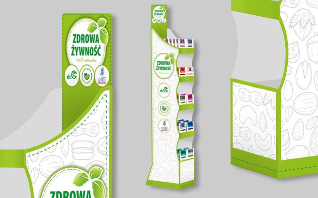 agencja reklamowa olsztyn reklama MVIZUAL aktualności display zdrowa żywność 1go1