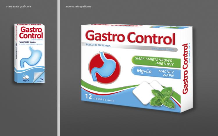 agencja reklamowa olsztyn MVIZUAL reklama projekt opakowania etykiety gastrocontrol redesign rebrand